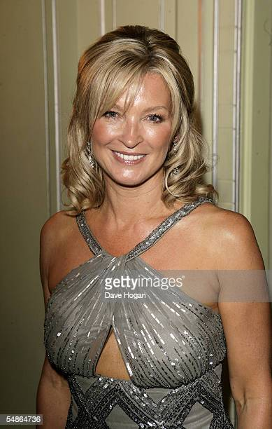 Actress Gillian Taylforth arrives at the TV Quick and TV Choice Awards at the Dorchester Hotel Park Lane on September 5 2005 in London England