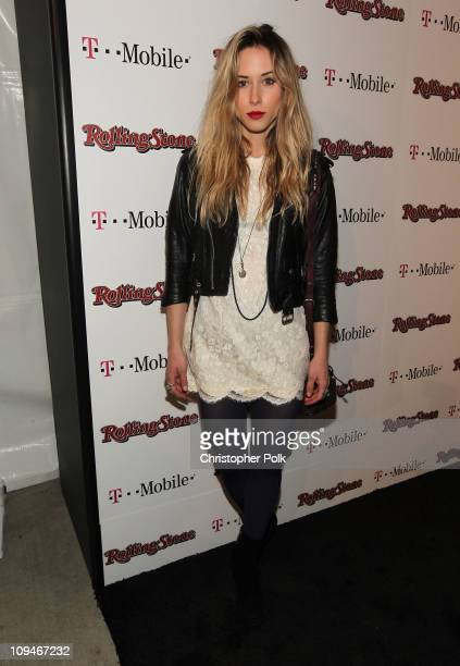 Actress Gillian Zinser arrives at the Peter Travers and Editors of Rolling Stone Host Awards Weekend Bash at Drai's Hollywood on February 26 2011 in...