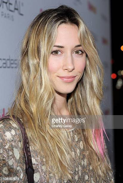 Actress Gillian Zinser arrives to 'A Night Of Red Carpet Style' hosted by People StyleWatch at Decades on January 27, 2011 in Los Angeles, California.