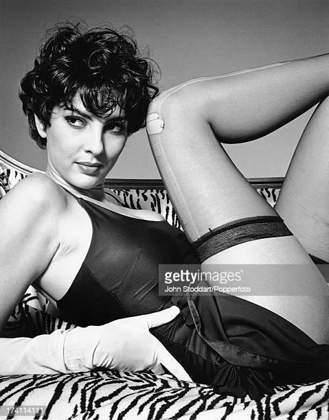 Actress Gina Bellman 15th November 1991