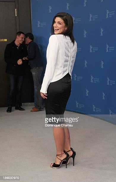 Actress Gina Carano attends the Haywire Photocall during day seven of the 62nd Berlin International Film Festival at the Grand Hyatt on February 15...