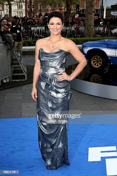 Actress Gina Carano attends the World Premiere of 'Fast Furious 6' at Empire Leicester Square on May 7 2013 in London England
