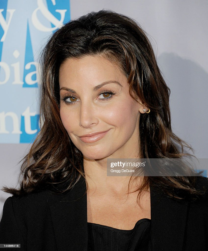 Actress Gina Gershon arrives at the L.A. Gay & Lesbian Center's 'An Evening With Women' at The Beverly Hilton Hotel on May 19, 2012 in Beverly Hills, California.