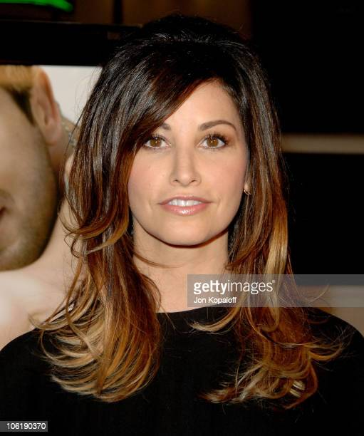 Actress Gina Gershon arrives at the Los Angeles premiere PS I Love You at Grauman's Chinese Theater on December 9 2007 in Hollywood California