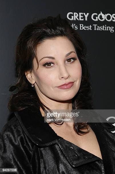 """Actress Gina Gershon attends a screening of """"A Single Man"""" hosted by the Cinema Society and Tom Ford at The Museum of Modern Art on December 6, 2009..."""