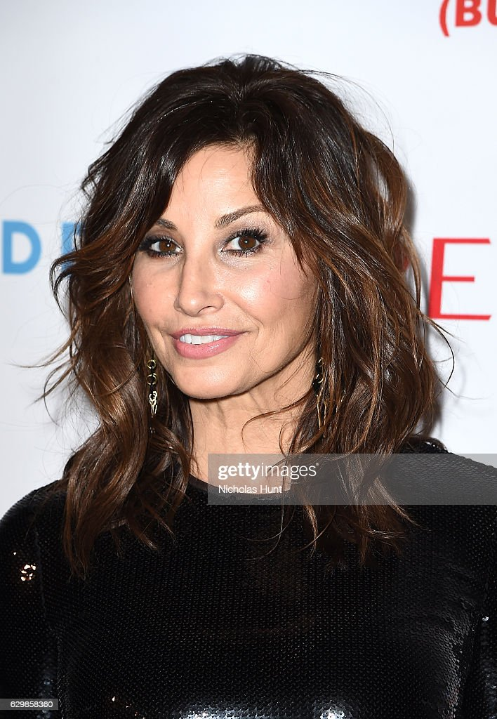 Actress Gina Gershon attends 'Baby It's Cold Outside' - The 2016 Revlon Holiday Concert for The Rainforest Fund Gala at JW Marriott Essex House on December 14, 2016 in New York City.