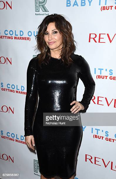 Actress Gina Gershon attends Baby It's Cold Outside The 2016 Revlon Holiday Concert for The Rainforest Fund Gala at JW Marriott Essex House on...