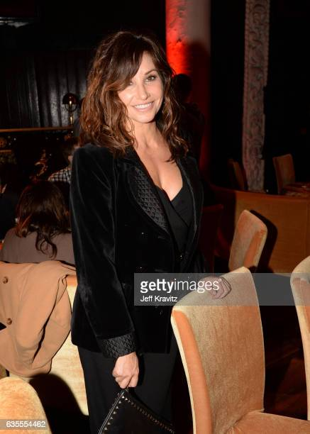 Actress Gina Gershon attends HBO's Crashing premiere and after party on February 15 2017 in Los Angeles California