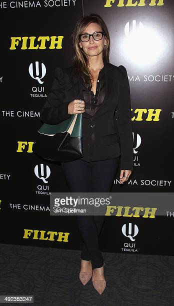 Actress Gina Gershon attends Magnolia Pictures with The Cinema Society screening of Filthat Landmark's Sunshine Cinema on May 19 2014 in New York City
