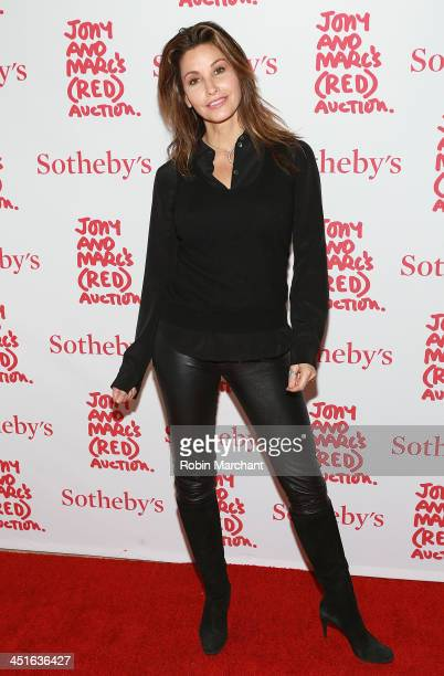 Actress Gina Gershon attends the 2013 Auction Celebrating Masterworks Of Design and Innovation on November 23 2013 in New York United States
