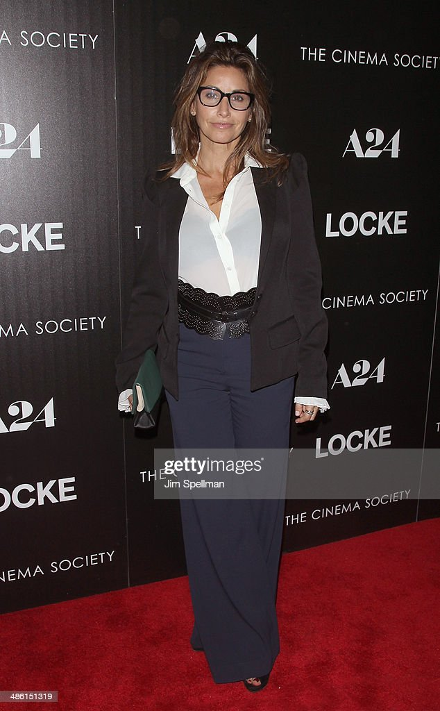 "A24 And The Cinema Society Host The Premiere Of ""Locke"" - Arrivals"