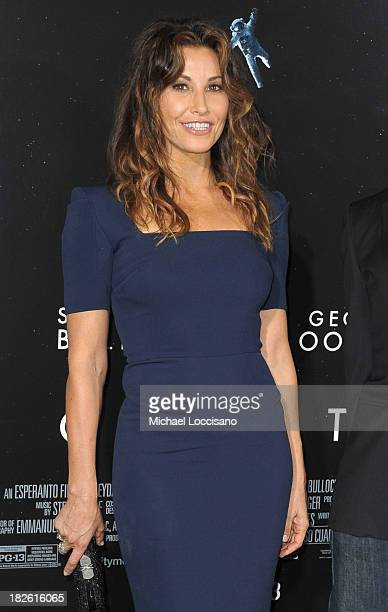 Actress Gina Gershon attends the 'Gravity' premiere at AMC Lincoln Square Theater on October 1 2013 in New York City