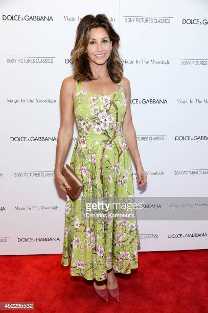 Actress Gina Gershon attends the Magic In The Moonlight premiere at the Paris Theater on July 17 2014 in New York City