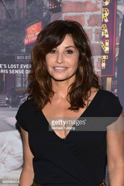 Actress Gina Gershon attends the premiere of HBO's 'Crashing' at Avalon on February 15 2017 in Hollywood California