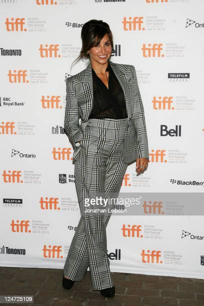 Actress Gina Gershon attends the premiere of Killer Joe at Ryerson Theatre during the 2011 Toronto International Film Festival on September 11 2011...