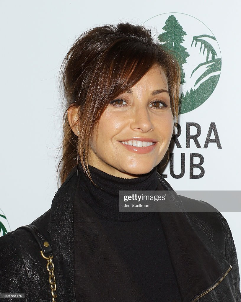 Actress Gina Gershon attends the Sierra Club's Act In Paris, a night of comedy and climate action at Heath at the McKittrick Hotel on November 11, 2015 in New York City.