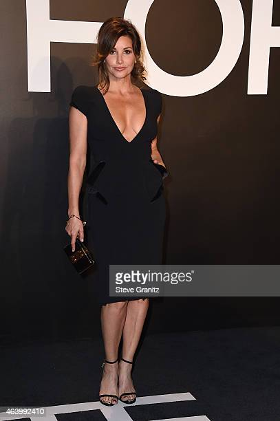 Actress Gina Gershon attends the Tom Ford Autumn/Winter 2015 Womenswear Collection Presentation at Milk Studios in Los Angeles on February 20 2015