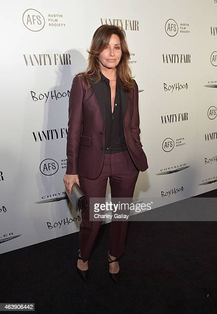 Actress Gina Gershon attends VANITY FAIR and Chrysler Celebration of Richard Linklater and the cast of Boyhood at Cecconi's on February 19 2015 in...