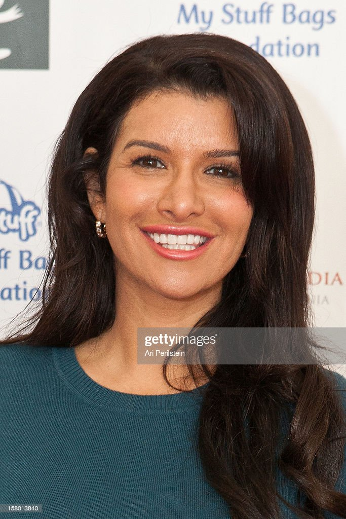 Actress Gina La Piana attends 'Kids Helping Kids' - A Celebrity Holiday Stuff-A-Thon Benefiting My Stuff Bags Foundation at CBS Studios - Radford on December 8, 2012 in Studio City, California.