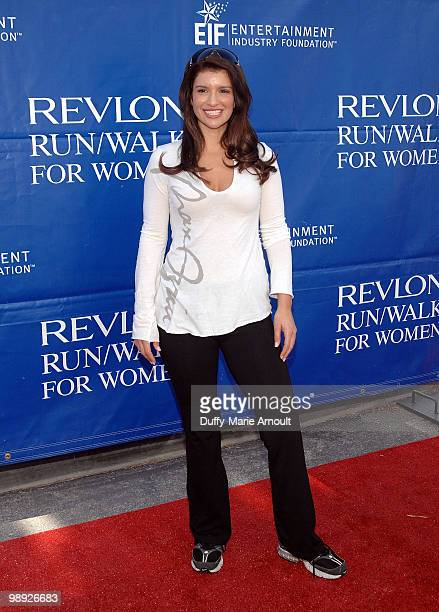 Actress Gina La Piana attends the 17th Annual EIF Revlon Run/Walk For Women at Los Angeles Memorial Coliseum on May 8 2010 in Los Angeles California