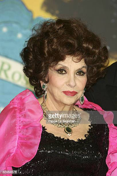 Actress Gina Lollobrigida arrives at the Rose Ball 2005 at The Sporting Monte Carlo on March 19 2005 in Monte Carlo Monaco
