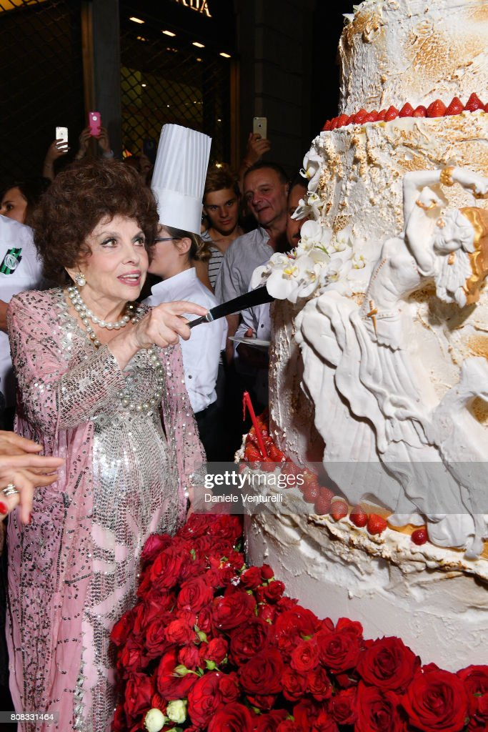 Gina Lollobrigida Birthday Celebrations In Rome