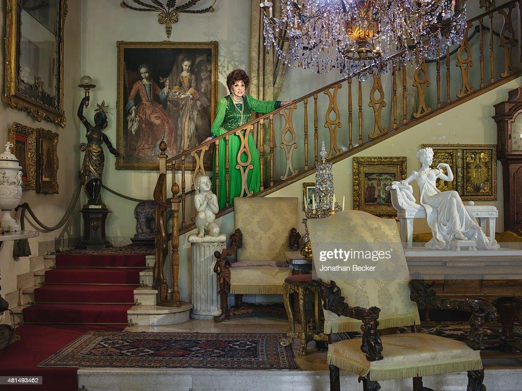 Gina Lollobrigida, Vanity Fair, February 2015