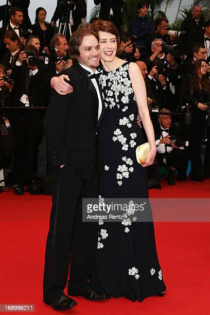 Actress Gina McKee and actor Danny Mooney attend the 'Jimmy P ' Premiere during the 66th Annual Cannes Film Festival at the Palais des Festivals on...