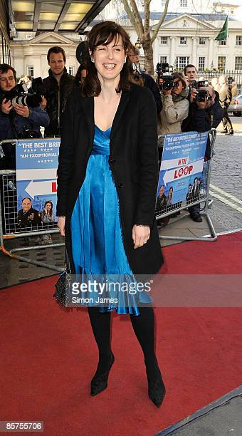 Actress Gina McKee attends the gala premiere of 'In The Loop' at Curzon Mayfair on April 1, 2009 in London, England.