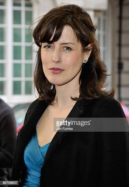 """Actress Gina McKee attends the """"In The Loop"""" film premiere at the Curzon Mayfair cinema on April 1, 2009 in London, England."""