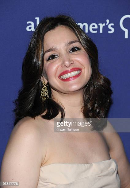 Actress Gina Philips arrives at the 18th Annual A Night At Sardi's Fundraiser And Awards Dinner held a the Beverly Hilton Hotel on March 18 2010 in...