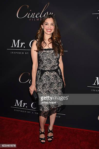 Actress Gina Philips arrives at the premiere of Cinelou Releasing's 'Mr Church' at ArcLight Hollywood on September 6 2016 in Hollywood California