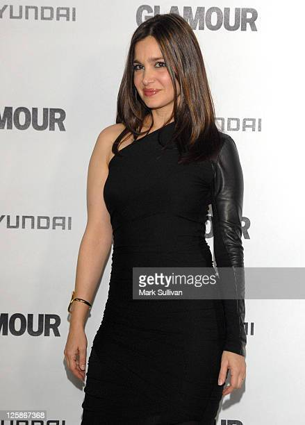 Actress Gina Philips attends the 5th Anniversary Of Glamour Reel Moments on October 25 2010 in Los Angeles California