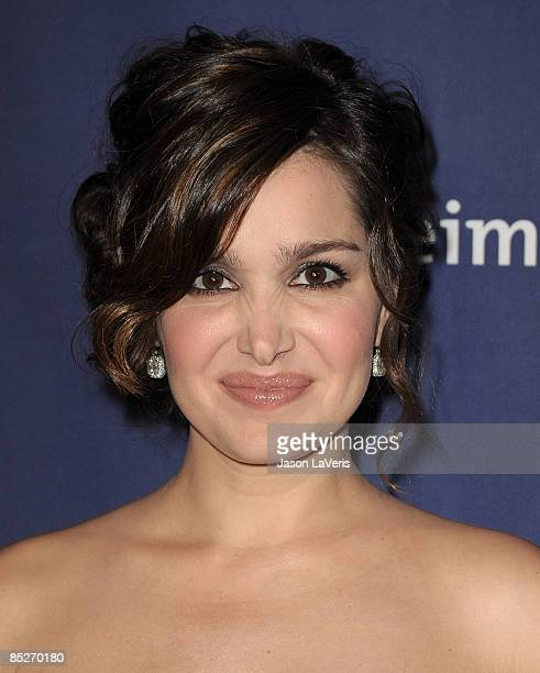 Actress Gina Philips attends the Alzheimer's Association's 17th annual A Night at Sardi's fundraiser at the Beverly Hilton Hotel on March 4 2009 in...