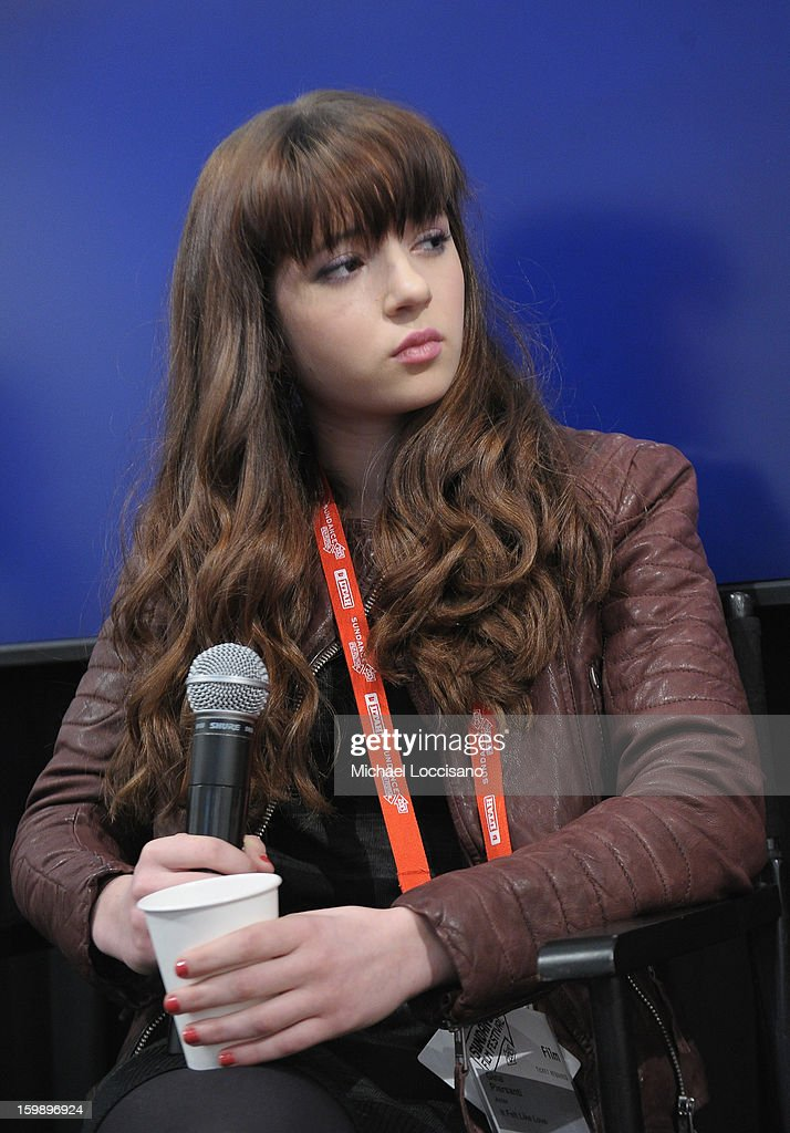 Actress Gina Piersanti attends the Acura Master Class - Emerging Women in Independent Film on January 22, 2013 in Park City, Utah.