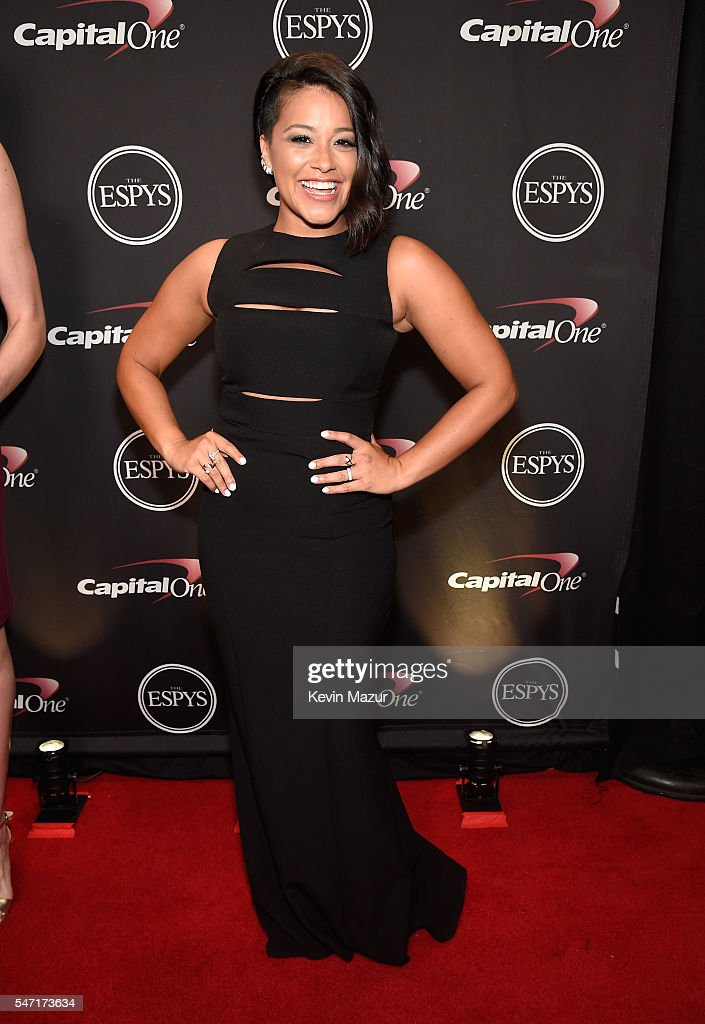 Actress Gina Rodriguez attends the 2016 ESPYS at Microsoft Theater on July 13, 2016 in Los Angeles, California.