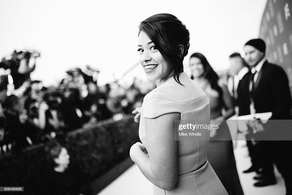 Actress Gina Rodriguez attends the 21st annual Critics' Choice Awards at Barker Hangar on on January 17, 2016 in Santa Monica, California.