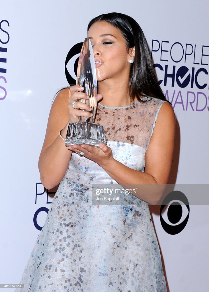 Actress Gina Rodriguez attends the 41st Annual People's Choice Awards at Nokia Theatre L.A. Live on January 7, 2015 in Los Angeles, California.