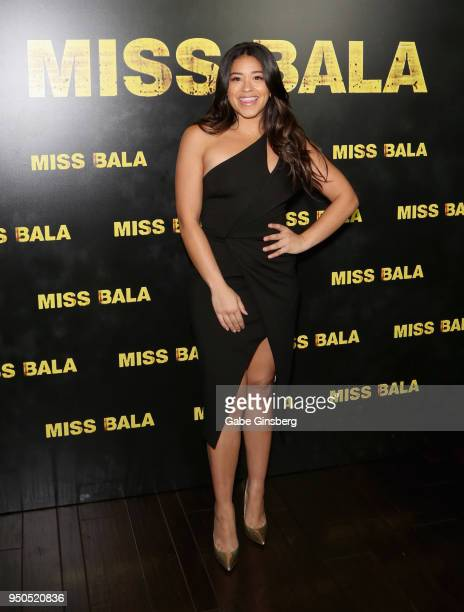 Actress Gina Rodriguez attends the CinemaCon 2018 Gala Opening Night Event Sony Pictures Highlights its 2018 Summer and Beyond Films at The Colosseum...