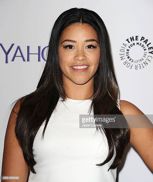 Actress Gina Rodriguez attends the 'Jane The Virgin' event at the 32nd annual PaleyFest at Dolby Theatre on March 15 2015 in Hollywood California