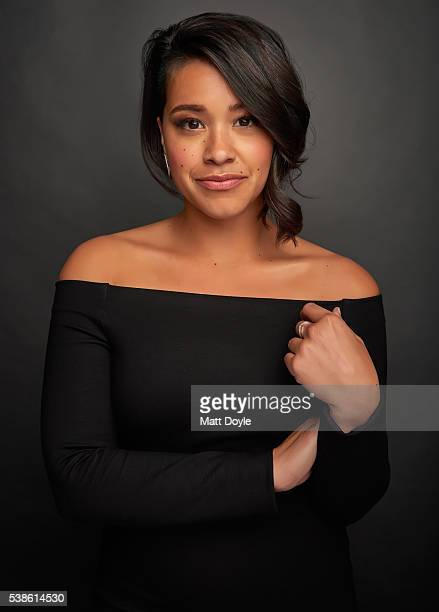 Actress Gina Rodriguez is photographed for SAG Foundation on May 19 2016 in New York City