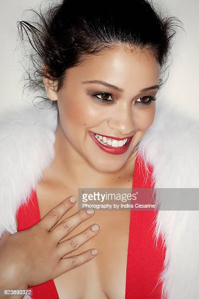 Actress Gina Rodriguez is photographed for The Untitled Magazine on July 24 2012 in New York City CREDIT MUST READ Indira Cesarine/The Untitled...