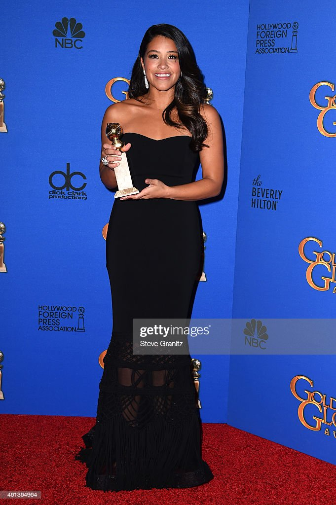 72nd Annual Golden Globe Awards - Press Room : News Photo