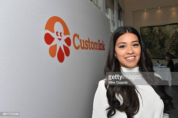 Actress Gina Rodriguez teams up with CustomInk for the annual Be Good To Each Other bullying prevention campaign on October 7 2015 in New York City