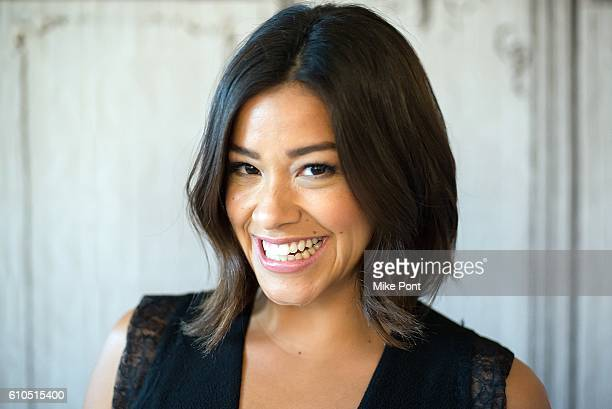 Actress Gina Rodriguez visits the Build Series to discuss Deepwater Horizon at AOL HQ on September 26 2016 in New York City