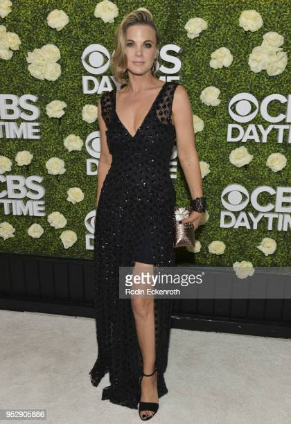 Actress Gina Tognoni attends the CBS Daytime Emmy After Party at Pasadena Convention Center on April 29 2018 in Pasadena California