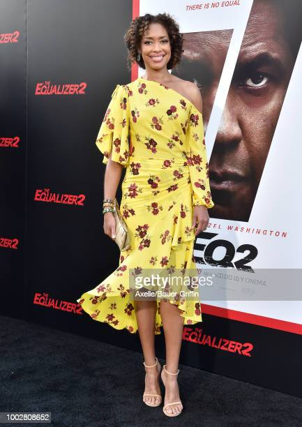 Actress Gina Torres attends the premiere of Columbia Picture's 'The Equalizer 2' at TCL Chinese Theatre on July 17 2018 in Hollywood California