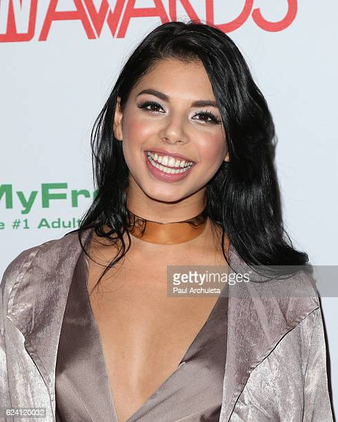 Actress Gina Valentina attends the 2017 AVN Awards nomination party at Avalon on November 17 2016 in Hollywood California
