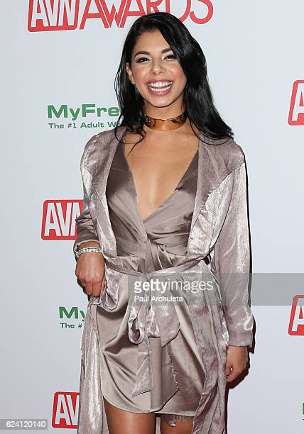 Actress Gina Valentina attends the 2017 AVN Awards nomination party at Avalon on November 17, 2016 in Hollywood, California.