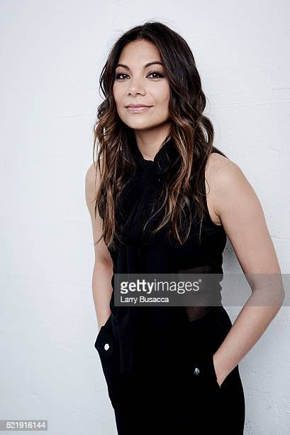 Actress Ginger Gonzaga from Dean poses at the Tribeca Film Festival Getty Images Studio on April 16 2016 in New York City
